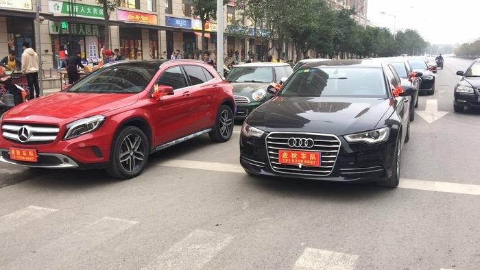 宁陕县豪华婚车租赁