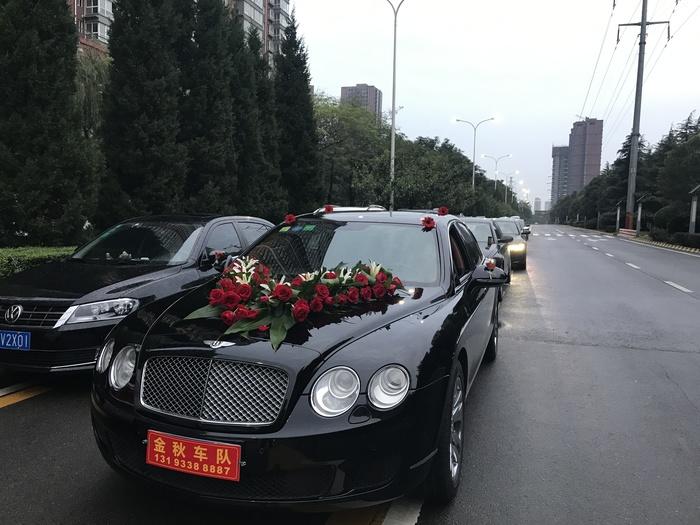 駱峪鎮特斯拉婚禮車隊