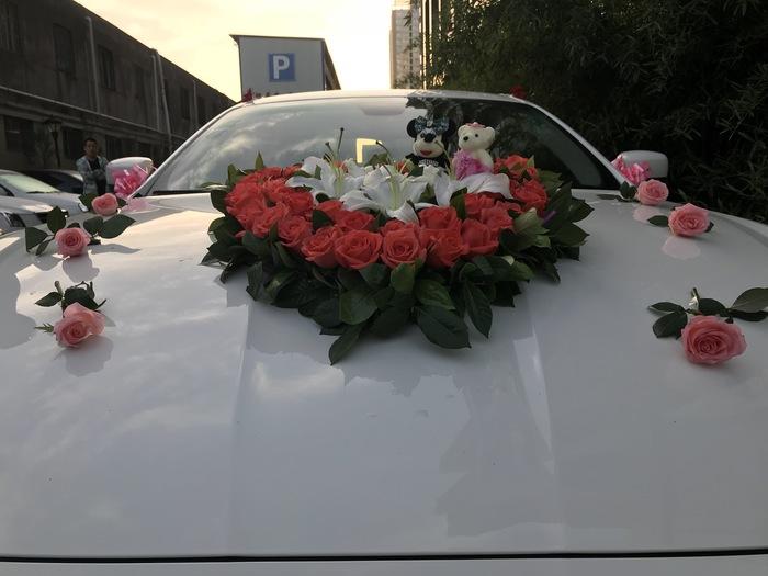 王家河鎮特斯拉婚禮車隊