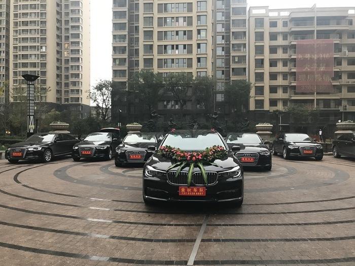 西安高端婚車租賃