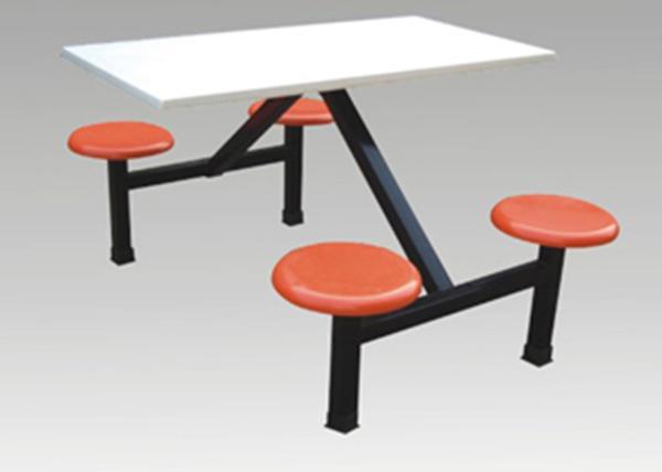 福州快餐店连体桌椅