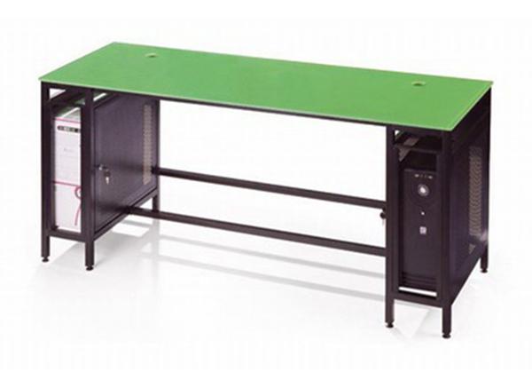 双人电脑桌