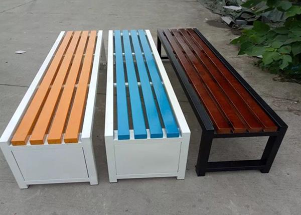 福州彩色公园椅
