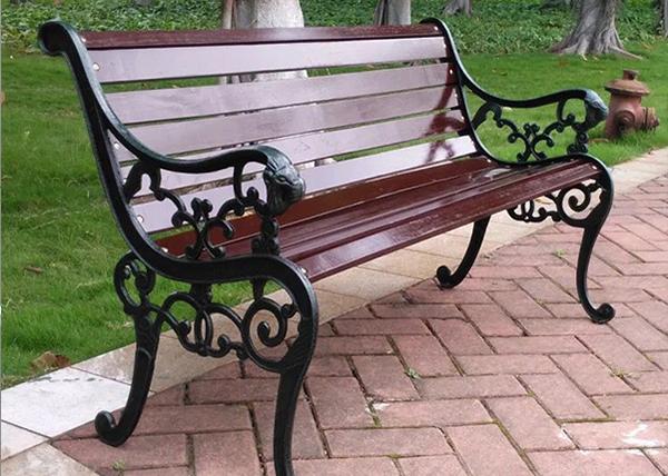 塑钢型材公园椅