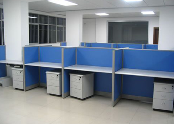 板式屏风办公桌