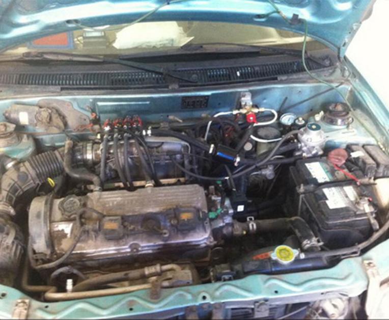 """车辆""""油改气""""程序和需要注意的事项"""