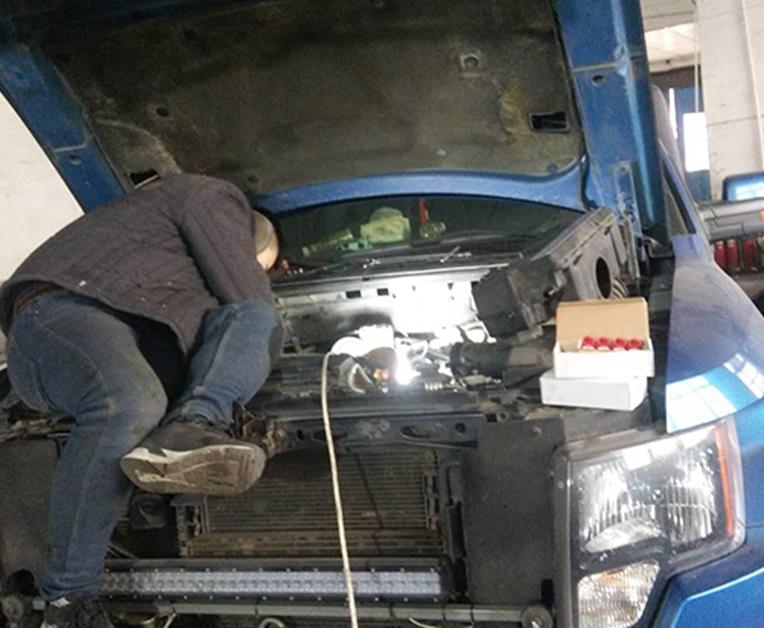 汽车油改气