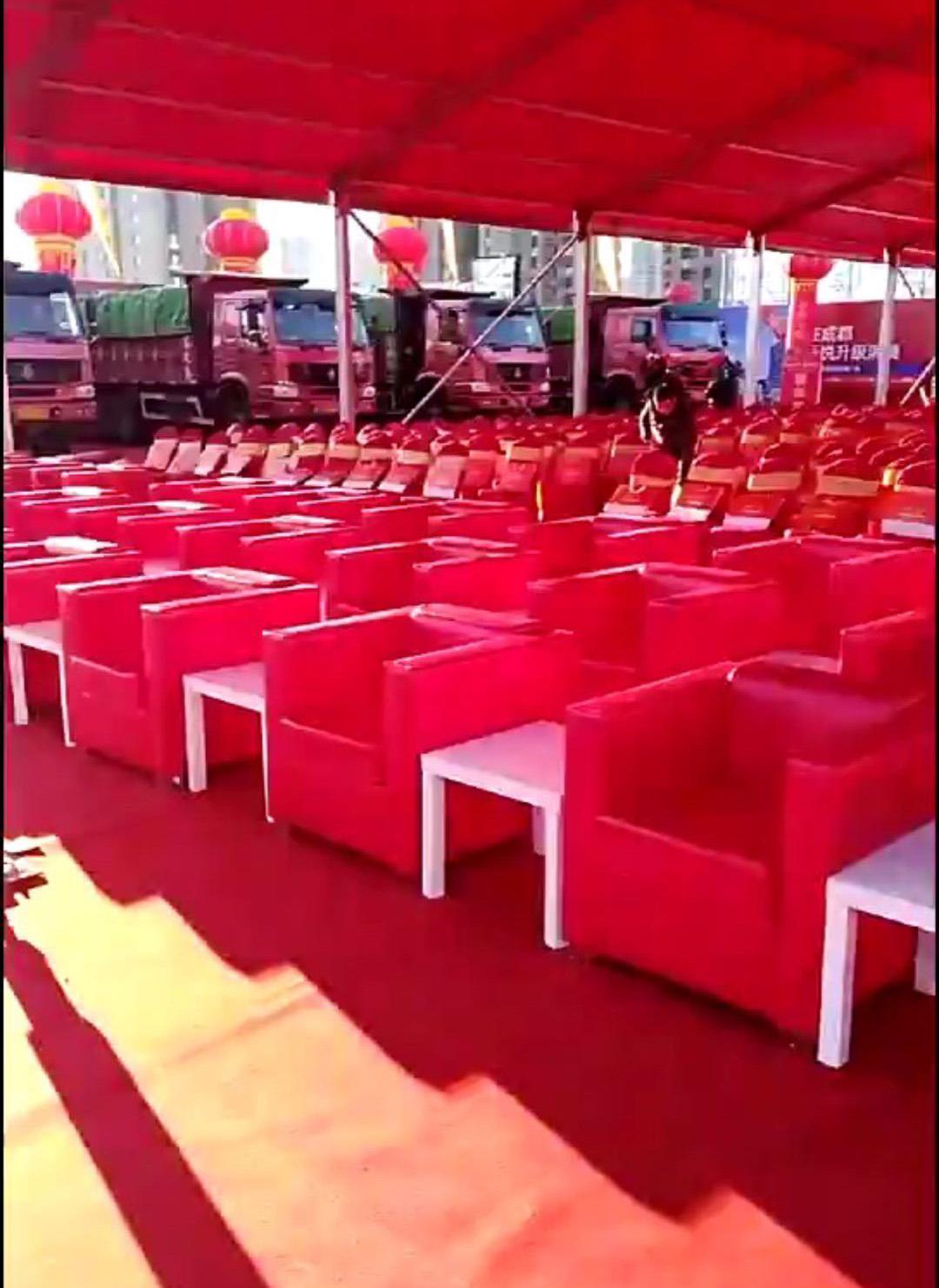 红色沙发租赁