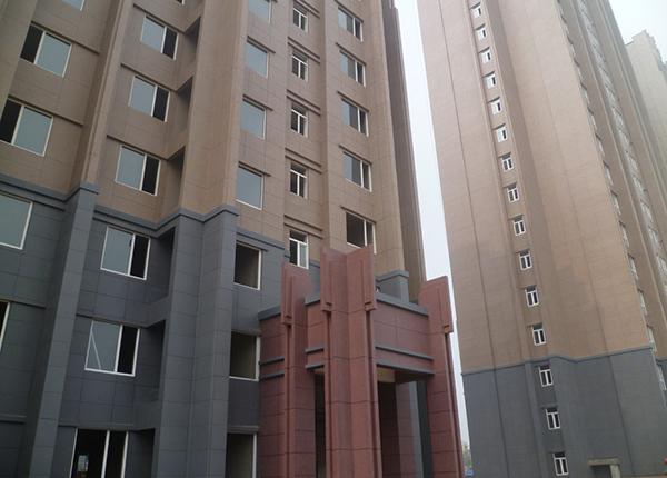 广东佛山汇景湾小区外墙真石漆工程