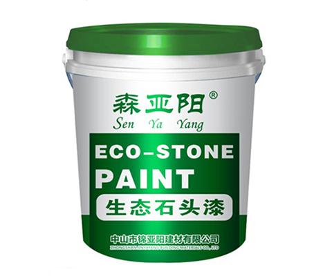 生态石头漆