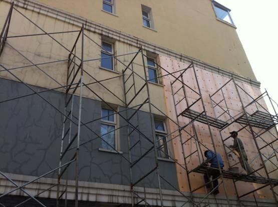 外墙挤塑板安装