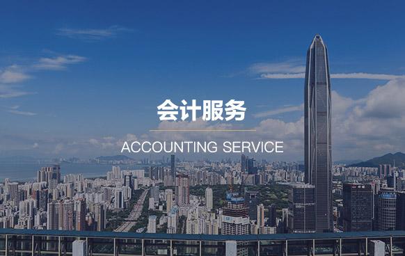 公司记账代理服务