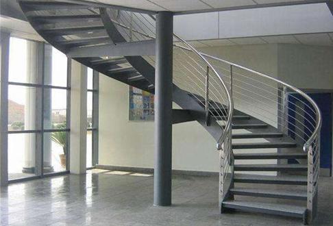 重庆钢结构楼梯:居旋转楼梯不可忽视的安全问题!