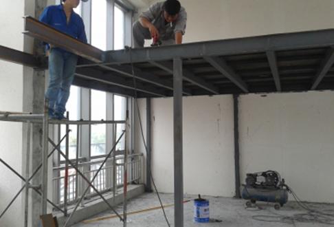 钢结构阁楼制作