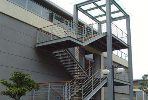 重庆钢结构楼梯制作