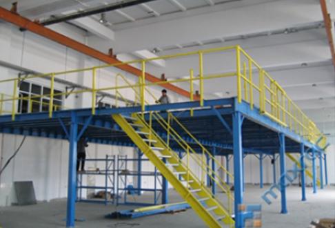 单层钢结构设备前的预备作业