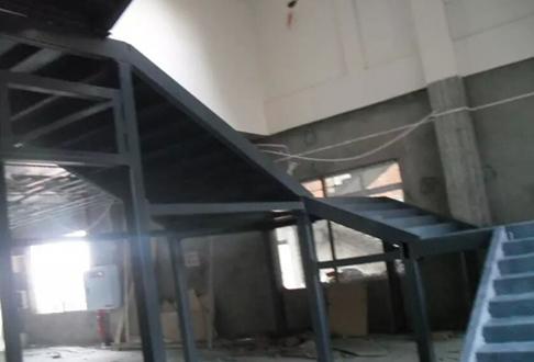 重庆钢结构楼梯施工案例