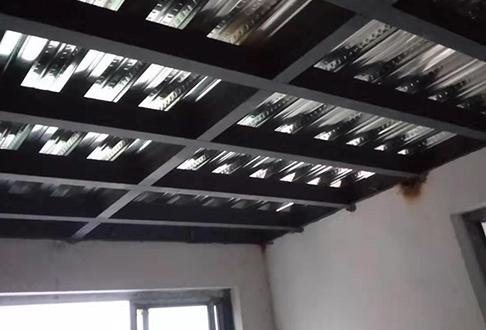 钢结构阁楼施工