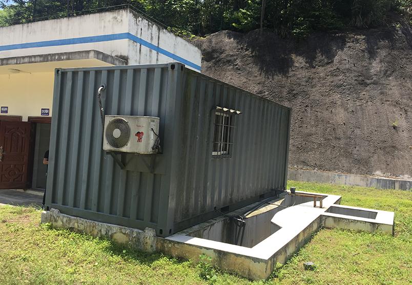江口梵凈山污水處理廠出口