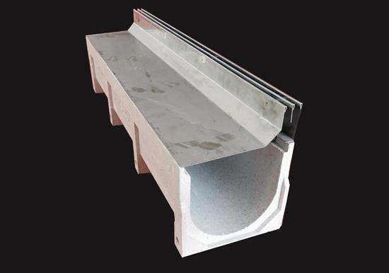 不锈钢侧双缝隙式排水沟