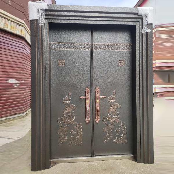 防爆铸铝门安装