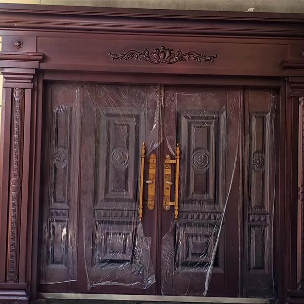 别墅大门安装