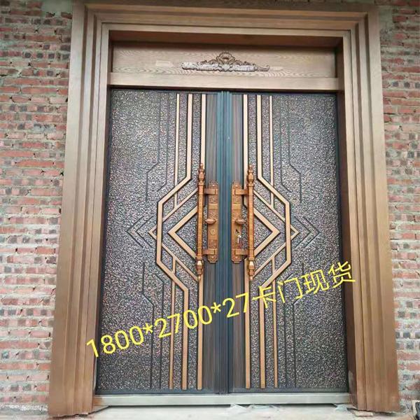 防爆铸铝门安装案例