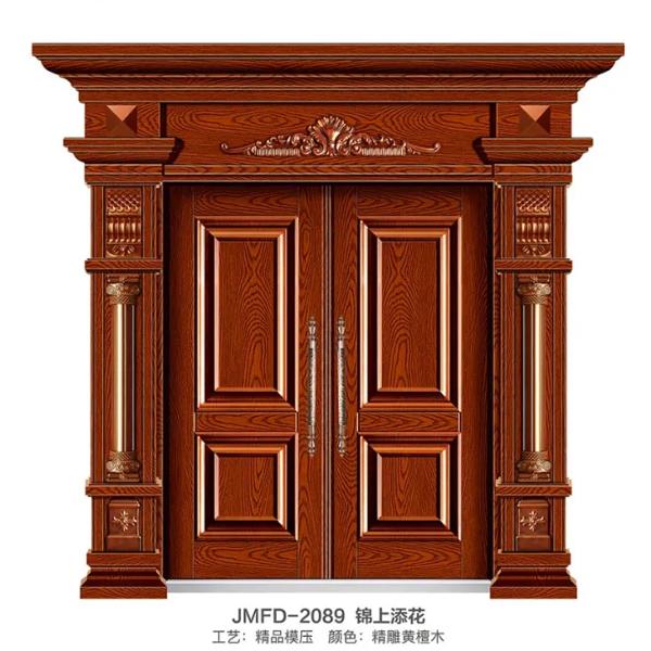 将门府邸门业分享庭院铝艺大门的日常维护小技巧