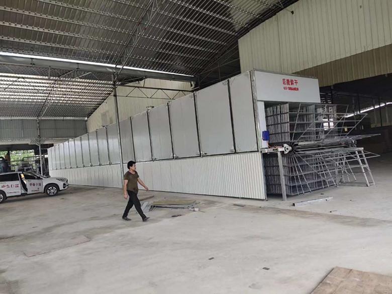广西贵港单板烘干机操作现场视频