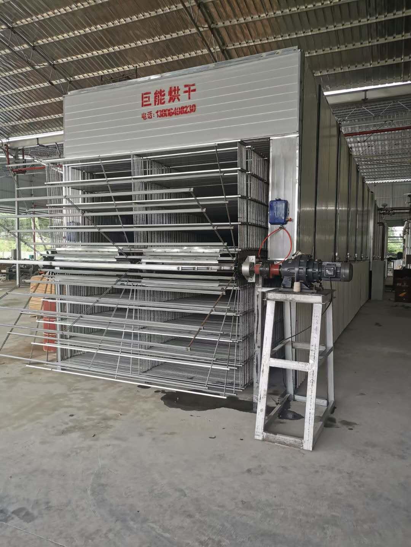 灌南客户-单板干燥机发货现场
