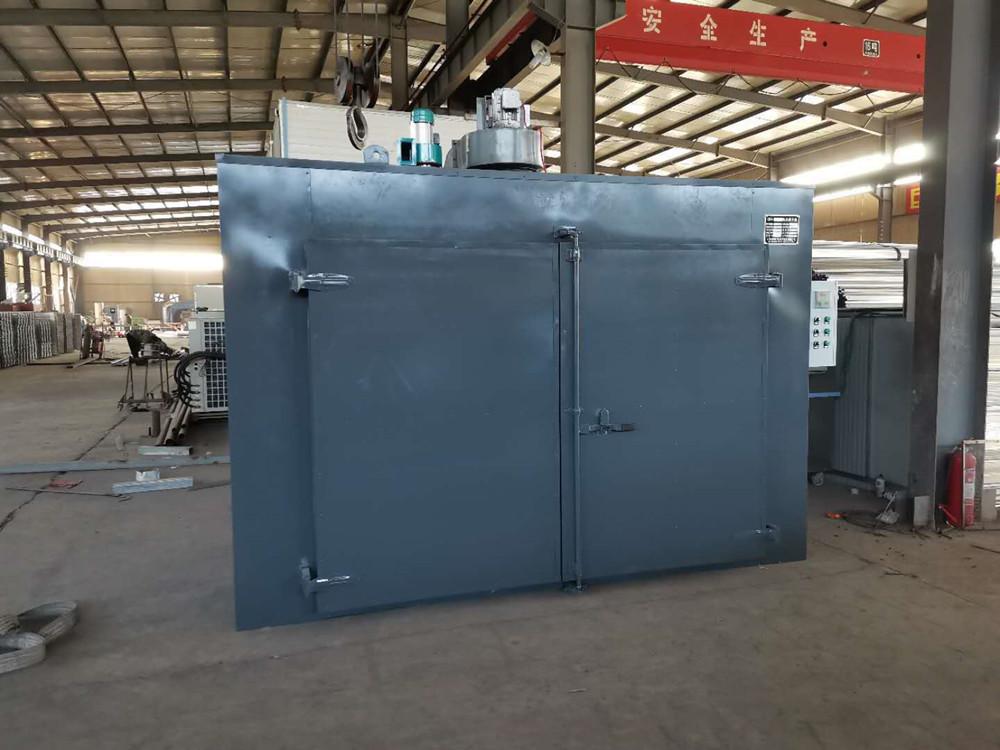 电加热烘干箱-胶粉干燥机发货现场