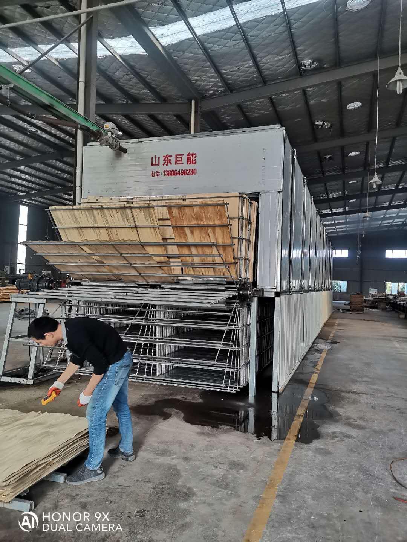 临沂木片单板干燥机发货现场