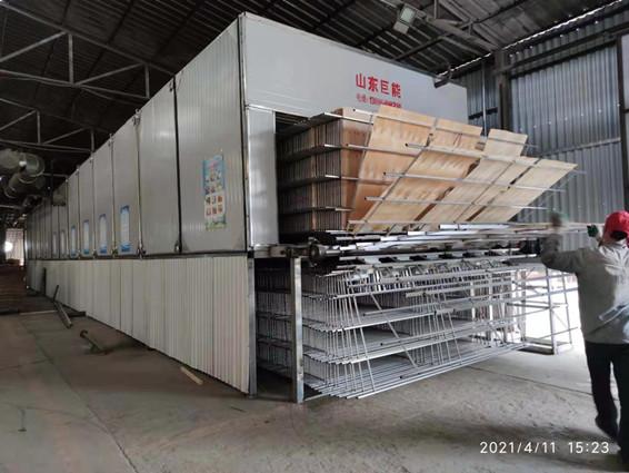立装单板烘干生产机