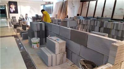 重庆南坪KTV加气砖隔墙施工