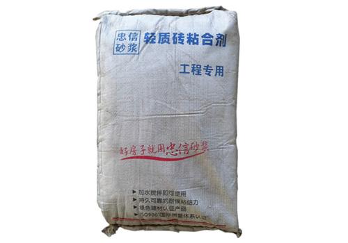 重庆轻质砖粘合剂价格