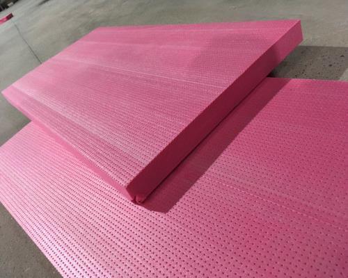 西安地暖挤塑板施工案例