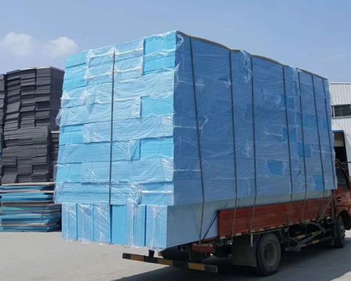 西安xps保温挤塑板施工案例