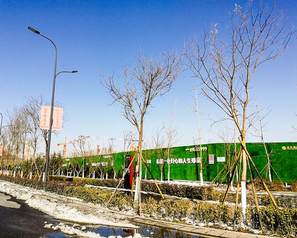 西咸新区沣东新城标牌及围挡案例展示