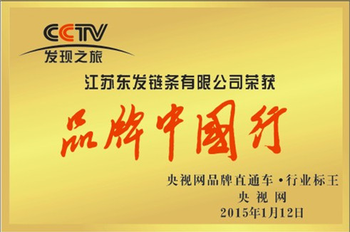 荣获品牌中国行行业标王荣誉