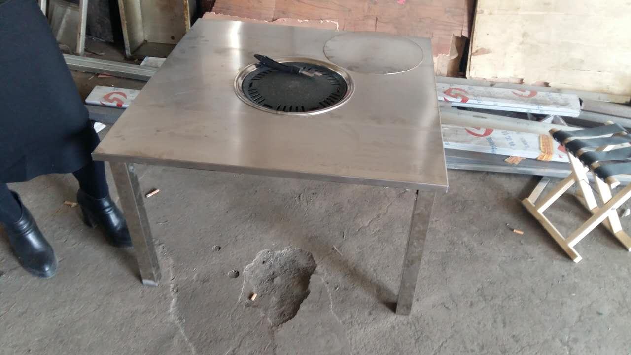不锈钢桌加工