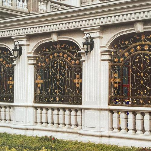 庭院铁艺护栏