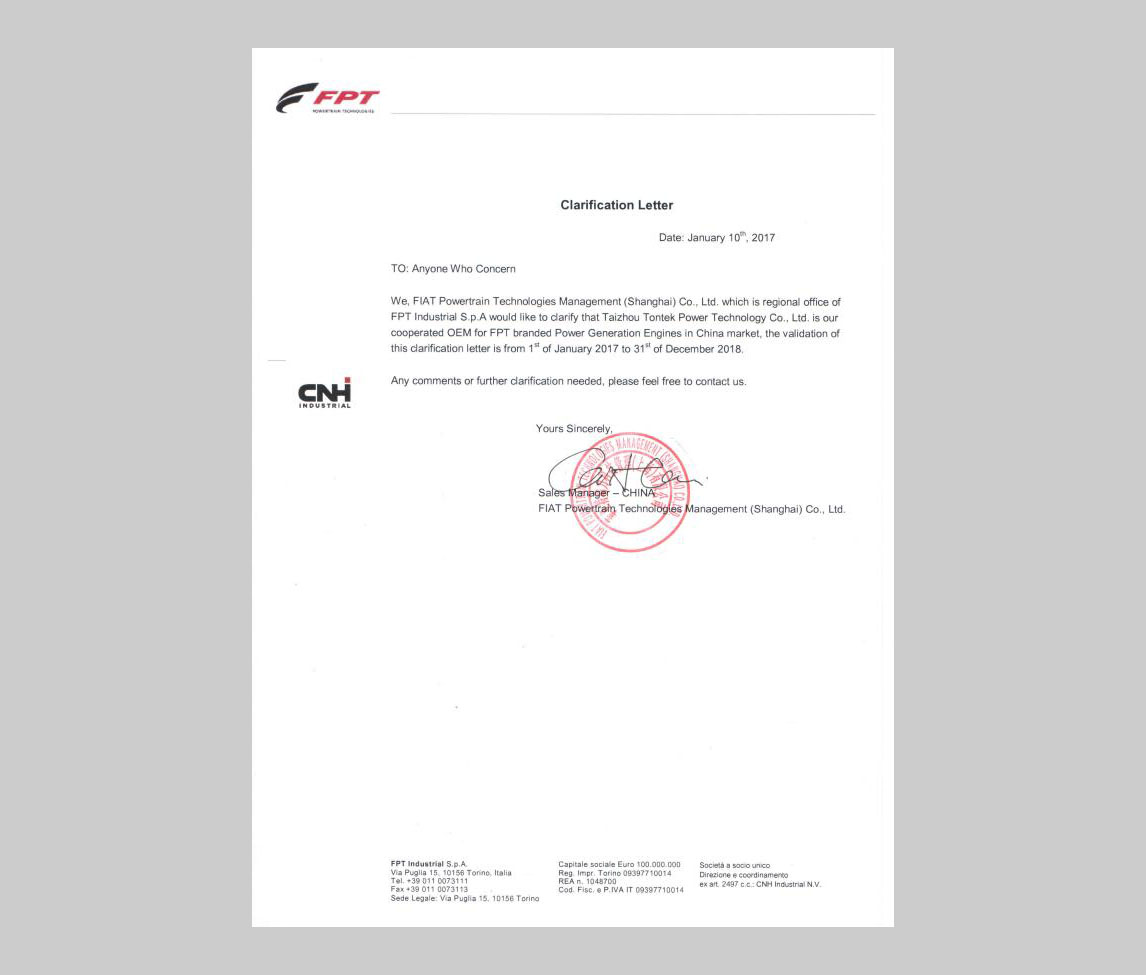 FPT IVECO OEM