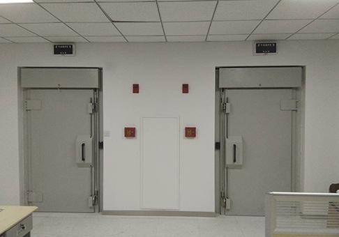 甘肃省公安厅制证中心屏蔽机房工程