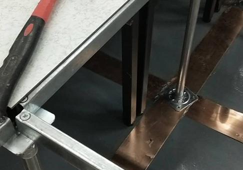 兰州机房地面防静电地板施工细节工程