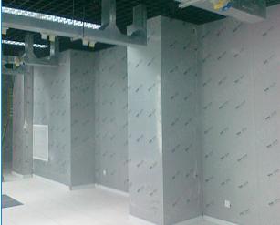机房墙面板安装