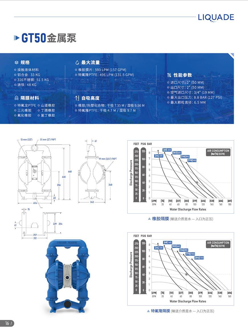 GT50金属泵