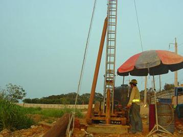 凿井、降水工程