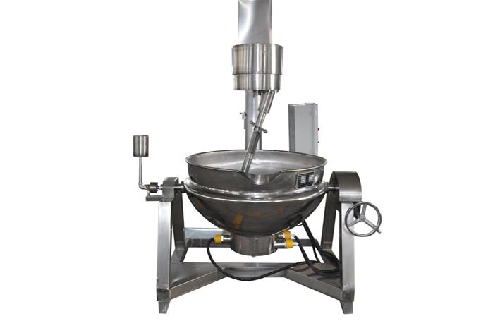 手动电加热导热油行星搅拌锅