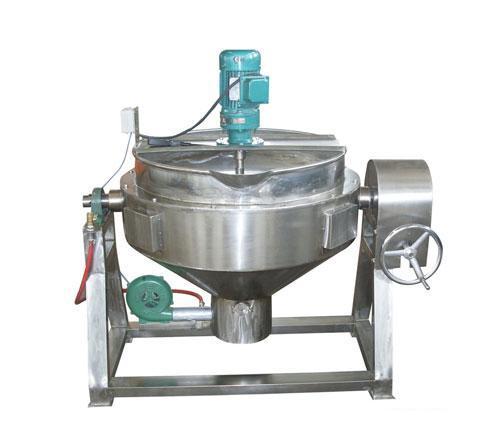 燃气可倾式夹层锅