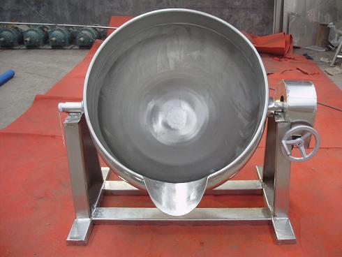 蒸汽可倾夹层锅